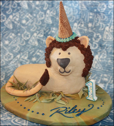 3d Lion Cake Gallery