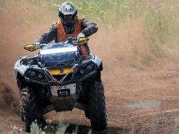 ATVs All Terain Vehicle Trails Cattail Trail off road Almena WI