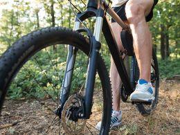 Mountain Biking Off Road Bicycling Cattail Trail Almena WI Barron County