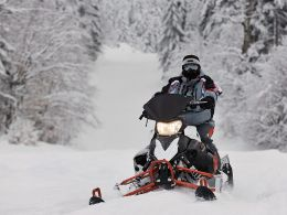 Snowmobile Trails Cattail Trail Snowmobiling Almena WI